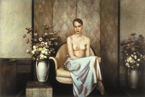 Marlo's Flowers, Vogue, 1984, 13 x 19 Fresson Print