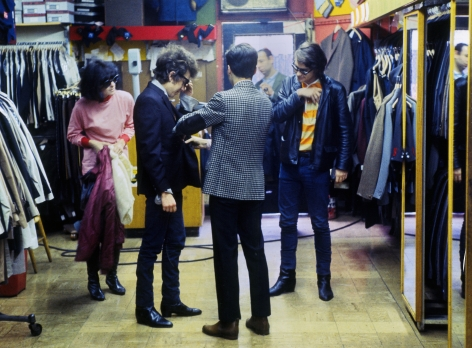 Dylan Clothes Shopping, NYC, 1965, Archival Pigment Print