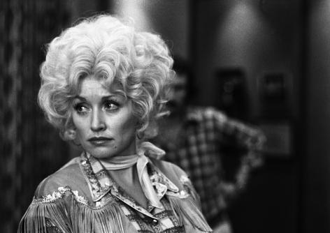 Dolly Parton, Los Angeles, CA, 1979, Silver Gelatin Photograph