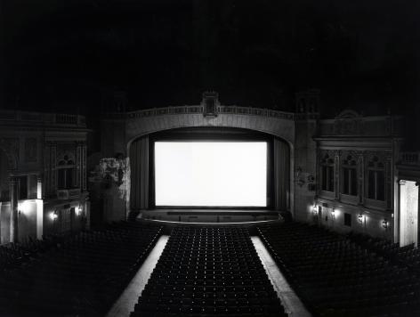 Hiroshi Sugimoto Stanley Theater, New Jersey, 1978