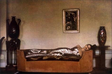 Art Deco Lady, 1984, 13 x 19 Fresson Print