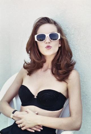 Diane Lane with Glasses, Los Angeles, 1994, Archival Pigment Print