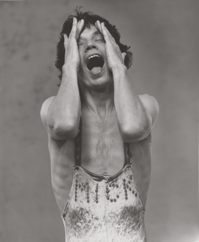 Mick Jagger 1, London, 1987, 14 x 11 Inches, Silver Gelatin Photograph, Edition of 12