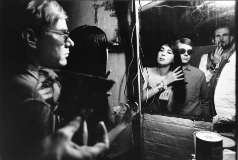 The Factory (Andy in Mirror), (Later Print made in Artist's lifetime), 1963