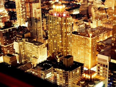 Hong Kong Lights, 2011, 20 x 46-1/2 Digital C-Print, Ed. 15