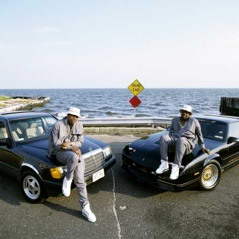 EPMD: Erick Sermon & Parrish Smith, Babylon Long Island, NY, 1989, 16 x 20 inches - Archival Pigment Print - Edition of 50