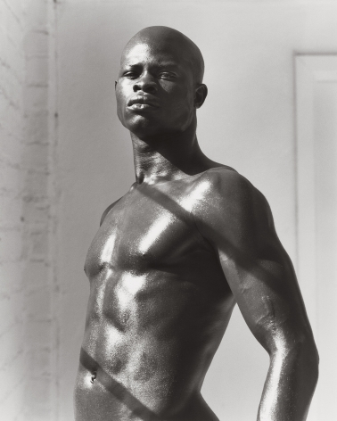 Djimon - Three-Quarter, Hollywood (a), 1989, 14 x 11 Inches, Silver Gelatin Photograph, Edition of 2