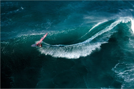 Pipeline Masters, Oahu, HI (Laforet Surfers Tilt-Shift Aerial 10)