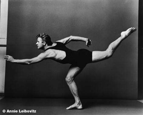 Mikhail Baryshnikov, 1990, 10-1/8 x 11-3/4 Platinum Palladium Photograph, Ed. 100