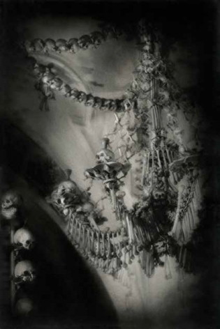 Chandelier, 1995 Hand Tinted Pigment Print on Archival Paper