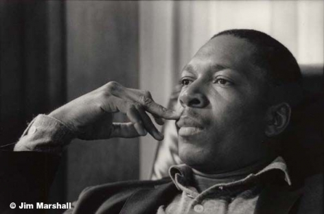 John Coltrane, 1959, 11 x 14 Silver Gelatin Photograph