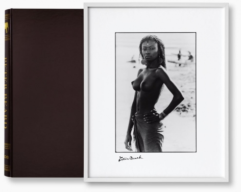 Peter Beard Collector's Edition Book (with print) - Fayal Tall, 2006