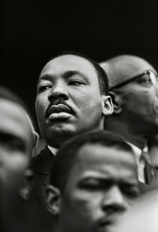 Martin Luther King Jr., Selma, Alabama, 1965, 20x 16Inches, Silver Gelatin Photograph, Edition of 25