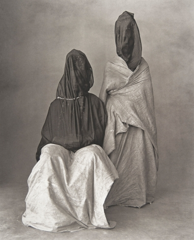 Two Guedras, Morocco, 1971, Silver Gelatin Photograph, Ed. of 15