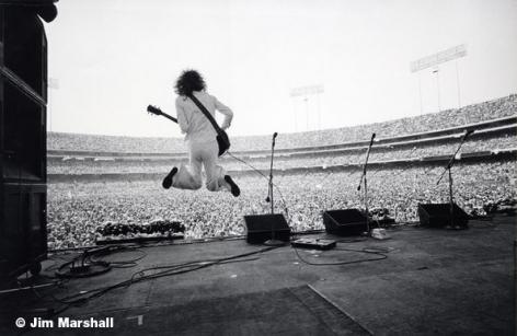 Peter Frampton, Oakland Coliseum, c. 1970, 11 x 14 Silver Gelatin Photograph