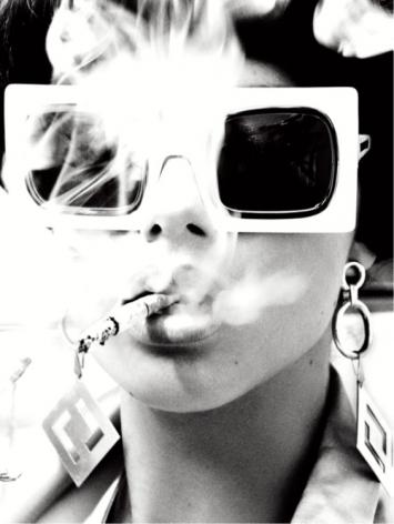 Smoking Hot, Sao Paulo, 2014, Silver Gelatin Photograph