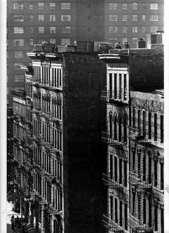 Harlem from 125th Street, New York, 1961, Silver Gelatin Photograph