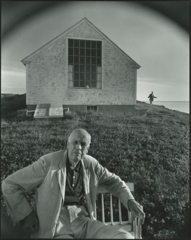 Edward and Jo Hopper, Turo, Massachusetts, 1960, Silver Gelatin Photograph