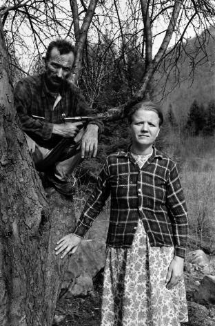 Husband and Wife, Harlan County, Kentucky,1971, Silver Gelatin Photograph