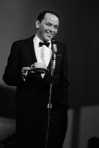 Frank Sinatra (Benefit for MLK), 1963, Silver Gelatin Photograph