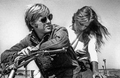 Robert Redford and Lauren Hutton, Sonoma, California, 1970, Silver Gelatin Photograph