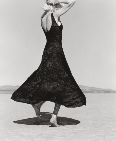 Nadja Auermann, El Mirage (c), 1995, 14 x 11 Inches, Silver Gelatin Photograph, Edition of 5