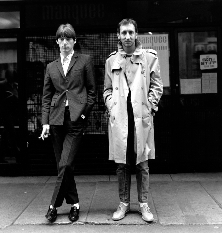 Paul Weller & Pete Townshend, Soho, London, 1980, 16 x 20 inches - Archival Pigment Print - Edition of 50