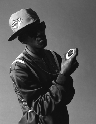 Flava Flav, Public Enemy, NYC, 1987, 20 x 16inches - Archival Pigment Print - Edition of 50