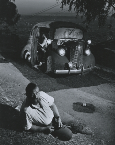 Ed Keinholz, 1967, Silver Gelatin Photograph Mounted to Board
