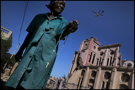 Haiti (Rosary), 2010, Combined Edition of 30 Photographs: