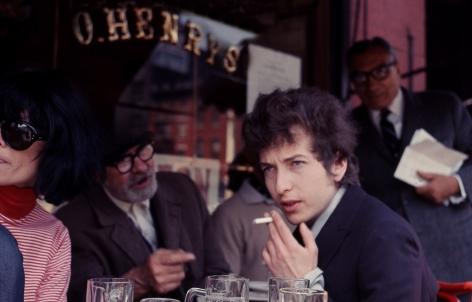Bob Dylan, O'Henry's Cafe, 1965, Archival Pigment Print