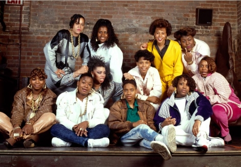 Women Rappers, NYC, 1988, 16 x 20 inches - Archival Pigment Print - Edition of 50