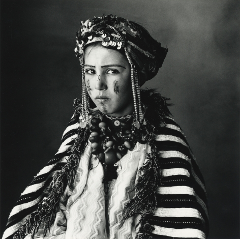 Child Dressed for the Brides Market, Morocco, 1971, Silver Gelatin Photograph, Ed. of 6