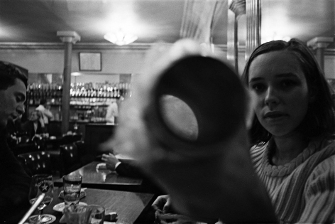 Girl with Glass, Paris, 1961-67