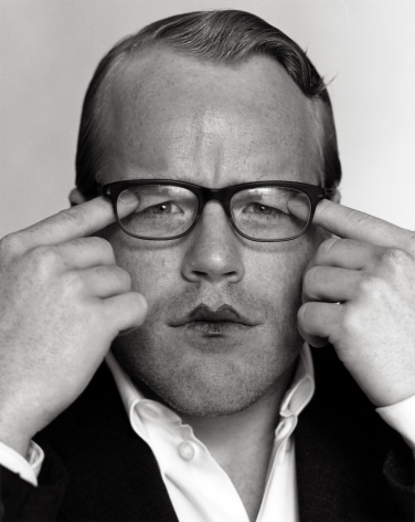 Phillip Seymour Hoffman 1, Los Angeles, 1999, 14 x 11 Inches, Silver Gelatin Photograph, Edition of 5