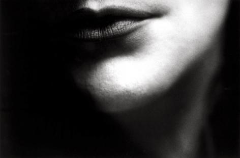 Untitled (Lips), 1987, 11 x 14 Silver Gelatin Photograph, Ed. 25