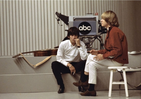 Keith Richards and Brian Jones, Los Angeles, April 1967, C-Print