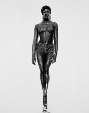 Naomi (Full Length), Los Angeles, 1992, 20 x 16 Inches, Silver Gelatin Photograph, Edition of 25