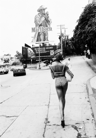 Sunset Strip II, Los Angeles, 1991, Silver Gelatin Photograph