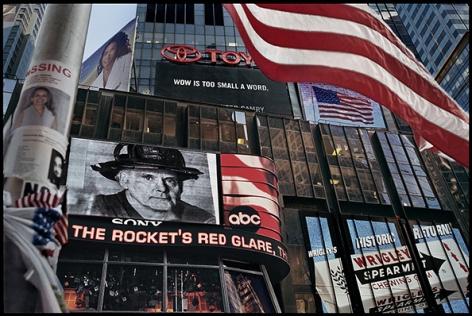 New York, World Trade Center (Times Square), 2001