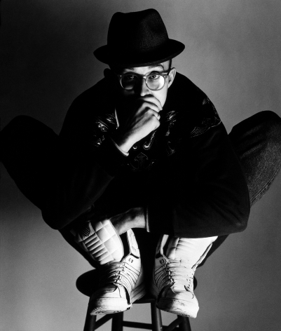 Keith Haring, New York, 1989, 20 x 16 Inches,Silver Gelatin Photograph, Edition of 25