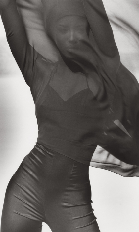 Naomi Campbell - Versace 4, El Mirage, 1990, 14 x 11 Inches, Silver Gelatin Photograph, Edition of 2