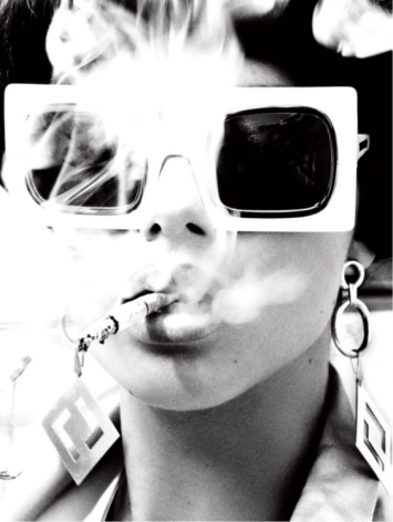 Smoking Hot, Sao Paulo, 2014, Silver Gelatin Photogaph