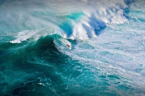 Pipeline Masters, Oahu, HI (Laforet Surfers Tilt-Shift Aerial 07)