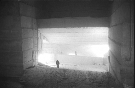 Marble Quarry, Vermont, ca.1960, Silver Gelatin Photograph