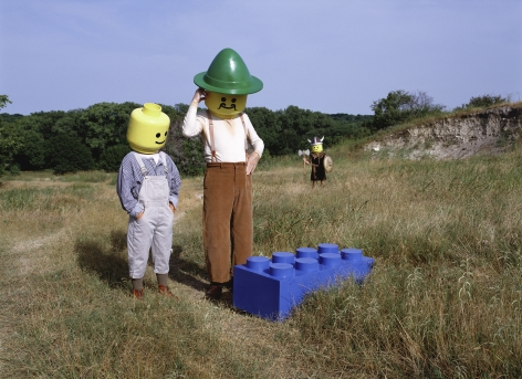 The Discovery of Legos, 2001, Archival Pigment Print