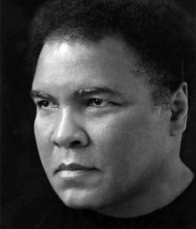 Muhammad Ali 1, Hollywood, 2000, 14 x 11 Inches, Silver Gelatin Photograph, Edition of 6