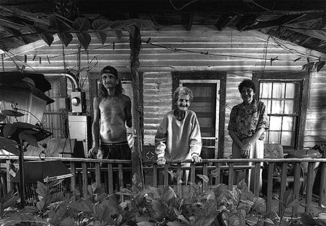 Hardburly Porch, 2004, 11 x 14 Silver Gelatin Photograph, Ed. 25