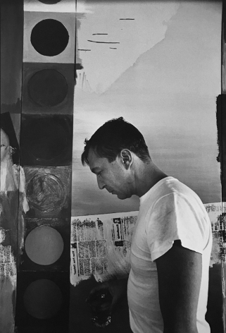 Jasper Johns (in studio), (Later Print, made in Artist's lifetime), 1964