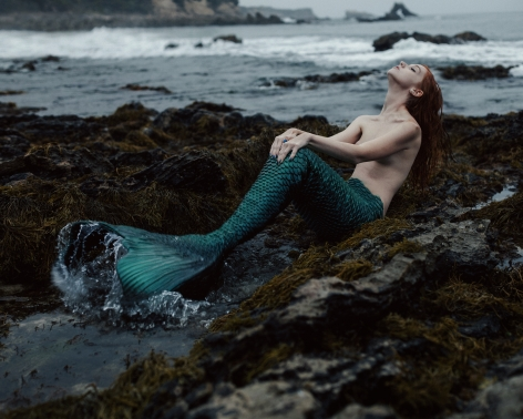 Mermaid, 2015, 20 x 24 inches, Archival Pigment Print, Edition of 20